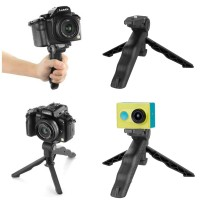 3 in 1 Stand Portable Mini Folding Tripod for DSLR HP action camera