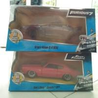Jual Diecast Jada Fast Furious Set 2PCS GTR R-35 and Dom's Chevelle SS Murah