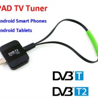 Pad TV DVB-T2 Receiver Micro USB TV Tuner Watch Digital TV on Android