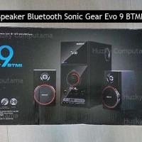 SONIC GEAR Speaker EVO 9 BTMI Bluetooth, USB, FM Radio. Garansi Resmi