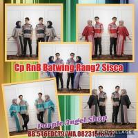 Jual Couple Setelan Rok N Blouse BATWING Batik RANG-RANG SISCA Murah