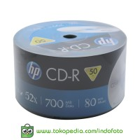 HP CD-R Isi 50pcs - Silver
