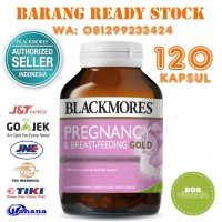 Blackmores Pregnancy and Breastfeeding Gold BPOM Kalbe - 120 Kapsul