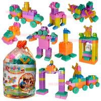 Jual Mainan Edukasi Bayi Balita ( Lego Anak Murah Lengkap / Lego Kreatif ) Murah