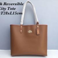 COACH Reversible City Tote Bag Tas Handbag Original Ori Murah
