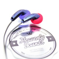 Heavenly Sounds Blues V2.0, Custom Handcrafted Premium Earbuds/ Earbud