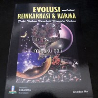 Evolusi Melalui Reinkarnasi & Karma - buku bali hindu