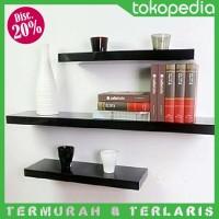 Jual LEBIH KUAT! Rak Dinding Gantung Minimalis - Floating Shelf Shelves Murah