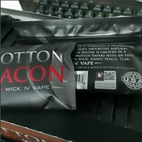 Cotton Bacon - by WICK 'N' VAPE (V2) Untuk Vape Vapor Vaporizer