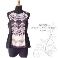 Premium floral abstract blouse by love bonito