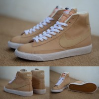 harga Sepatu / Sneakers Nike Blazer Wheat Leather Original Tokopedia.com