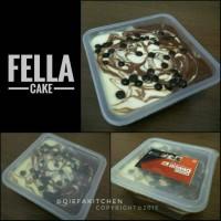 Jual Fella Cake varian COKELAT / KOPI / DURIAN Murah