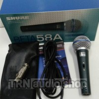 Mic Kabel switch Shure Beta 58a Beta 58 Vocal Dynamic Microphone