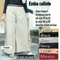 baju muslim celana emba cullote