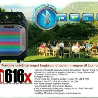 Jual Speaker Bluetooth Portable Meeting and Outbound Dazumba DM616x Murah