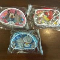 Dompet Kecil Kartun (Doraemon, Minnie Mouse, Angry Bird)