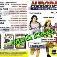 Kaset VCD original OM AURORA album 3 Bintang VIA VALLEN NELLA JIHAN