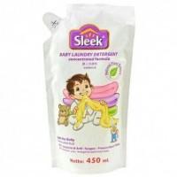 Jual Sabun sleek detergent baby loundry 450ml Murah Murah
