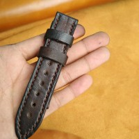 Tali Jam Tangan /strap Watch Leather Brown
