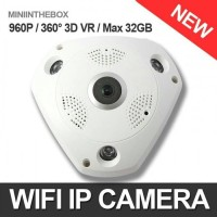 CCTV online Live Streaming Panoramic Camera VR Cam/Ip Cam 360
