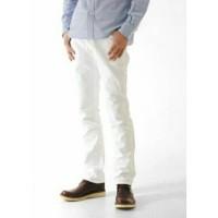 skinny jeans white / celana jeans putih pria