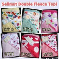 Jual Selimut Double Fleece Topi Carter Murah