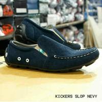 Jual sepatu pria slip on kickers kulit suede sz 39-43 Murah