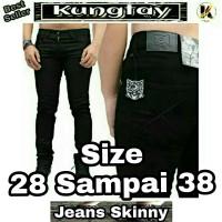Jual Jeans Size 35 36 37 38 Big Jumbo Skinny Pensil Denim Celana Pria Murah