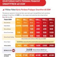 Jual SP GSM SMARTFREN 13gb(2+6+5chat) Murah