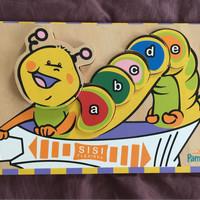 Jual Mainan bayi Alfabet kayu Murah