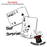Size Surprise | Alat Sulap | Mainan | Kartu Sulap | Magic | Dimen Shop