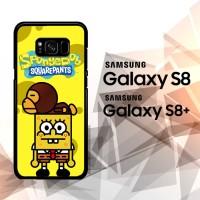 Custom Hardcase Samsung Galaxy S8 S8 Plus Baby Milo Spongebob Z3560
