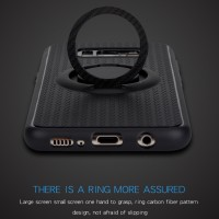 Samsung Galaxy S8 I-Zore Magnetic Ring Shockproof Sarung Silicone TPU