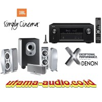 Jual Paket Home Theater Denon AVR-X1300W dan JBL SCS-260 Murah