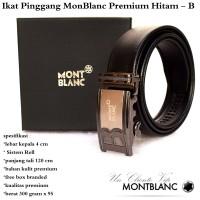 Ikat pinggang / sabuk / Gesper Monblanc Premium Hitam B