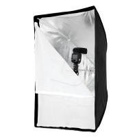 SOFTBOX UMBRELLA FRAME EASY FOR SPEEDLITE 50x70cm