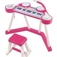 ELC Key boom board PINK - piano mainan