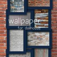 wallpaper untuk dollhouse/rumah barbie