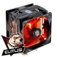 Fan Processor Cooler Master Hyper 212 LED Turbo CPU Cooler BLACK COVER