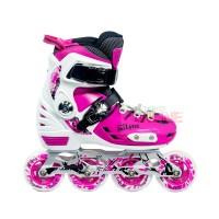Sepatu Roda LYNX BM135 Recreational Inline Skate - PINK