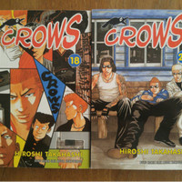 Komik Crows 1 - 26 tamat by Hiroshi Takahashi
