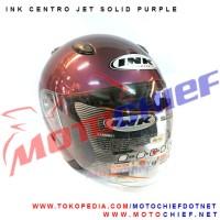 harga Helm Ink Centro Jet Solid Purple Tokopedia.com