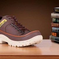 Sepatu Caterpilar Semi Boots Safety Shoes Termurah