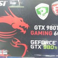 Jual VGA MSI GTX 980ti Gaming 6GB OC Murah