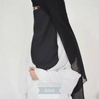 Jual Zahira Niqab 3 layer Polos Murah