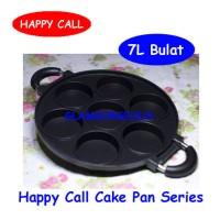 Alat Dapur serba guna 7 Lubang Bulat Panci Teflon HAPPY CALL    Best