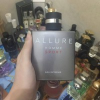 Parfum Ori Chanel Allure Home Sport original, EDT nett 100ml