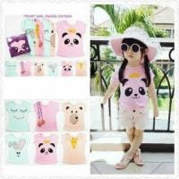 Baju Online Murah Model Baju Anak Perempuan Kazel Panda Edition