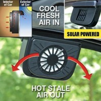 Auto Fan Cool kipas angin mobil tenaga surya solar fan cooler - HMO001