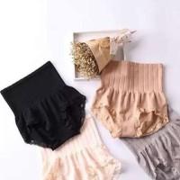 Jual JAPAN MUNAFIE Slim Panty ( slim Lace pants / celana korset renda Murah